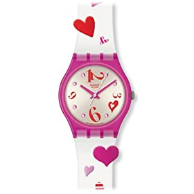 swatch (スウォッチ) 腕時計 LOVING TWISTER(Valentine's Day) GV120