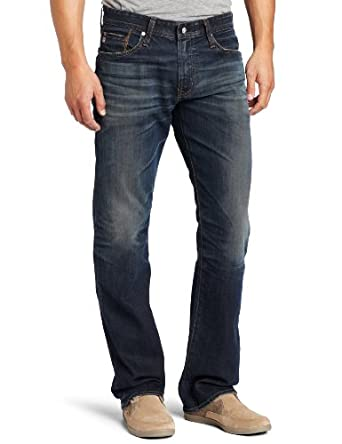 AG Adriano Goldschmied Men's The Protégé Straight Leg Jean in 4 Year Matte, 4 Year Matte, 29