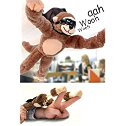 [Best price] Novelty & Gag Toys - Flingshot Flying Monkey - toys-games