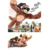 Slingshot Flying Screaming Monkey Toy Flingshot ~ Playmaker