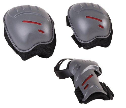 Hudora 83162 - Biomechanisches Protektorenset joey für Kinder, Größe: M