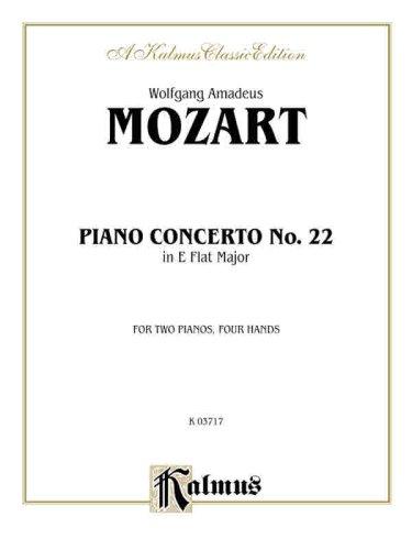 Piano Concerto No. 22 in E-Flat, K. 482 (Kalmus Edition)