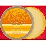 The Body Shop - Jolly Orange Body Butter (Aromatic Moisturiser with Orange Seed Oil) 200ml / 6.7 OZ / 192g