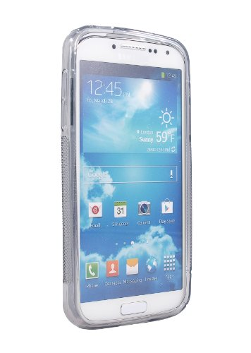 Exact S-Line TPU Case for Samsung Galaxy S4 Active (i9295 Water Resistant Version) Transparent Gray