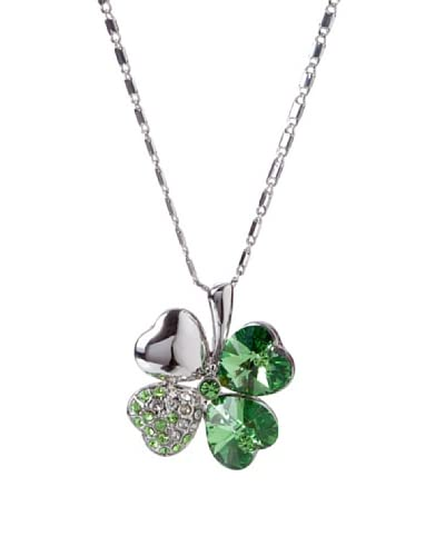 MUSAVENTURA Collar  Clover Verde Verde