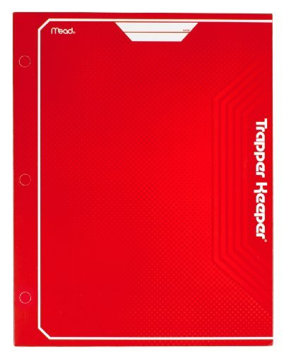 mead-trapper-keeper-2-pocket-portfolio-12-x-938-x-12-inches-red-72652-by-mead