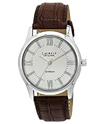 Laurels Veteran 2 Analog Silver Dial Mens Watch ( Lo-Vet-201)