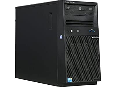 Newest Lenovo Flagship Server System x3100 M5 - Intel Quad-Core Xeon E3-1220 v3 3.1GHz, 8GB RAM, 1TB HDD 7200 RPM, DVDRW, Matrox G200eR2 Graphics