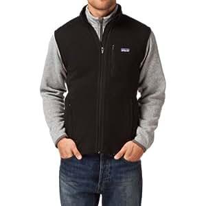 Patagonia M'S Better Sweater V Gilet sans manche homme Noir L