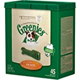 Greenies Dental Chew for Dogs, 27-Ounces, Petite, 45-Pack