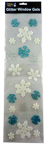glitter-gel-de-noel-autocollants-de-fenetre-turquoise-blanc-bleu-flocons-de-neige-decorations-de-noe