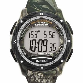 Timex Men's T40611 Expedition Digital Compass Realtree Hardwoods Green Camo Watch