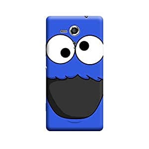 Sony Xperia SP Cookie Monster Premium Designer Polycarbonate Hard Back Case Cover with full Protection