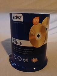 Activa DVD-R Qty 100