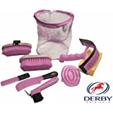 Derby Originals 91-7034PK 9 Items Deluxe Horse Grooming Kit