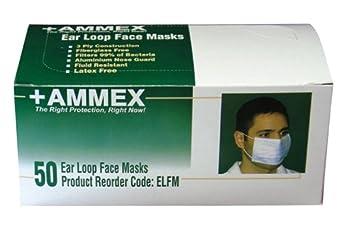 Ammex ELFM Earloop Style Face Mask