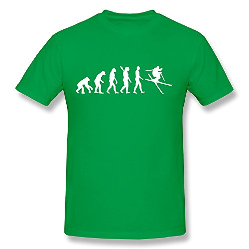 Evolution Ski Personalized 100% Cotton Tees For Men'S front-789969