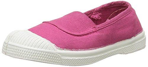 BensimonTennis - Sneaker Unisex - Bambini , Rosa (Rose(468 Rose Vif)), 28