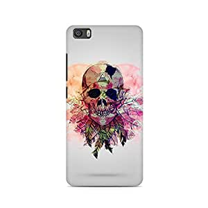 Mobicture Skull Abstract Premium Printed Case For Xiaomi Redmi 5