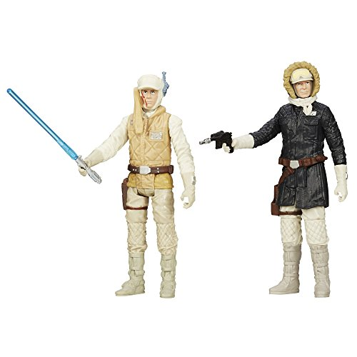 Star Wars Mission Series Figure Set (Luke Skywalker and Han Solo)