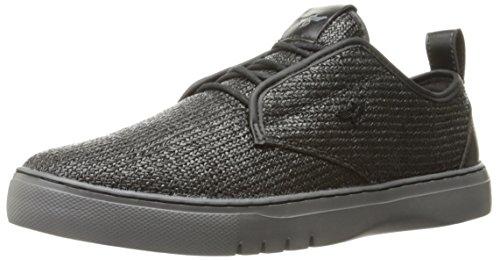 Creative Recreation Men's Lacava Q Fashion Sneaker, Black Pewter Woven, 9.5 M US