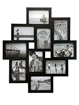 Malden Crossroads 3D 10-Slot Collage Picture Frames for 3-1/2-by-5-Inc​h Images