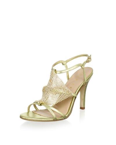 Lola Cruz Women's High Heel Sandal  - Oro