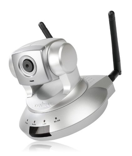 Edimax IC-7000PTN Wireless 802.11n Dual Mode Pan/Tilt Internet Camera With 1.3M Pixels Lens
