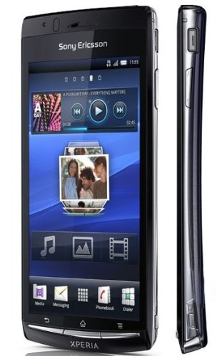 Sony Ericsson Xperia arc S LT18a-BLU Unlocked Smartphone with Android OS, 8MP Camera, 1.4 GHz Processor, 4.2-Inch Multi-Touch Display, Wi-Fi and aGPS – US Warranty – Blue