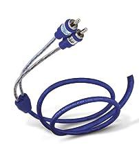 Tsunami RTP950-3 RCA Male to Male Cable (3 feet, Blue)