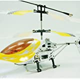ANDP 3 Channels RC Helicopter Remote Control Alloy Radio Control Airplanes Indoor Toys(YX02730) , Yellow