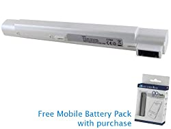 Averatec 2100 Battery 32Wh, 2200mAh with free Mobile Battery Pack