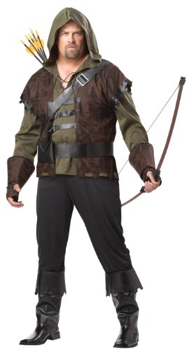 California Costumes Men's Robin Hood Adult Plus Costume