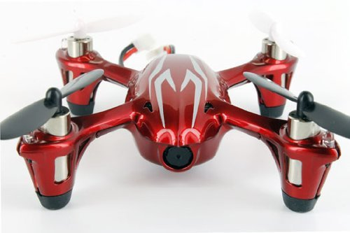Hubsan X4 HD (ワインレッド) H107C   [赤白] Quadcopter With Camera