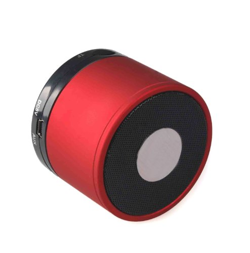 B S10 Wireless Mini Bluetooth Speaker Support Phone Call And Tf Card-Red