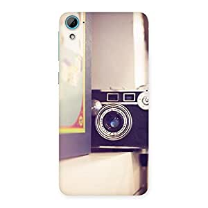 Impressive Pastel Camera Back Case Cover for HTC Desire 826