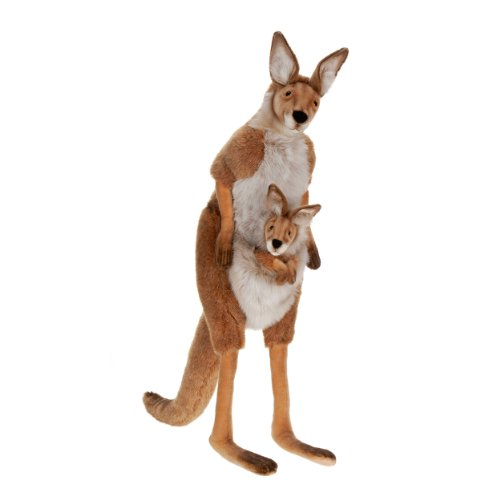 Life Size Mama and Joey Kangaroo