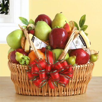 Stew Leonard's – Fruit, Cheese & Nuts Fruit Basket