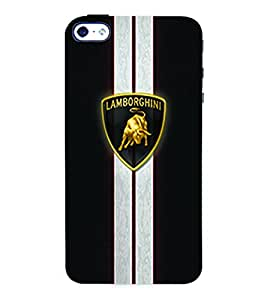 Fuson 3D Printed Car Designer Back Case Cover for Apple iPhone 4 - D577