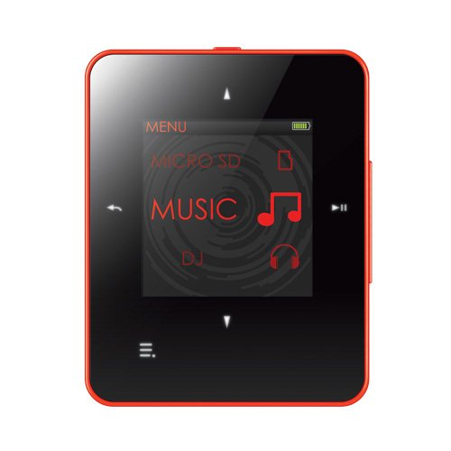 Creative ZEN Style M100 MP3 Player 8GB (Red)