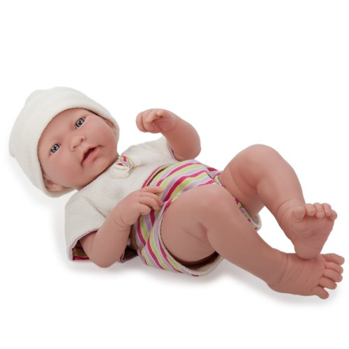 "Jc Toys 17"" La Newborn Real Boy"