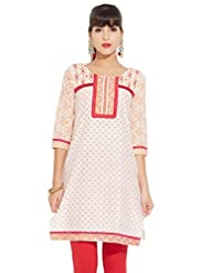 LOVELY LADY Ladies Cotton Solid KURTI - B00ZCCL56E