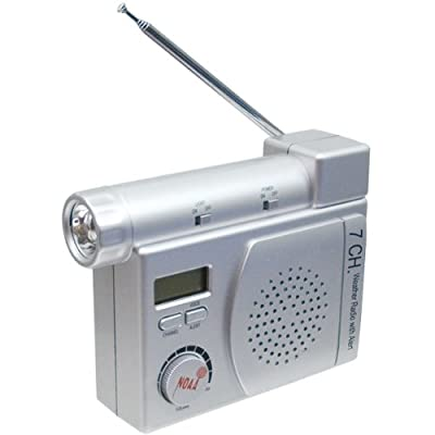 NOAA Emergency Weather Alert Radio by Springfield Instrument Co.