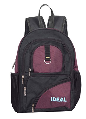 Ideal® Runner 20 Litres Purple and Black Laptop Backpack  available at amazon for Rs.890