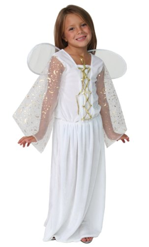 91086 Nativity Christmas Pagessup Costume Angel Xmas Size 6/8
