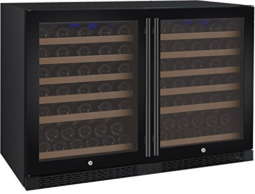 Review Of Allavino FlexCount 2X-VSWR56-2BWT 112 Bottle Multi-Zone Wine Refrigerators - Side by Side ...