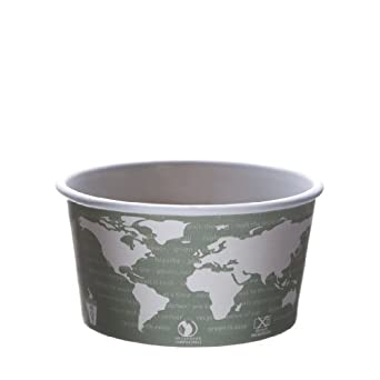 Eco-Products EP-BSC12-WA 12 oz World Art Soup Cup Container (Case of 500)