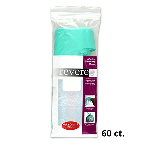Revere Disposal Bags, X-Large, Pack/60