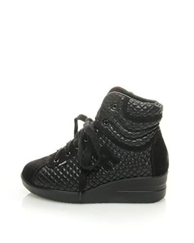 Ruco Line Sneaker Basket Courmayeur [Nero]