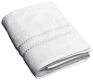Amazon Com Lenox Pearl Essence Bath Towel White Home